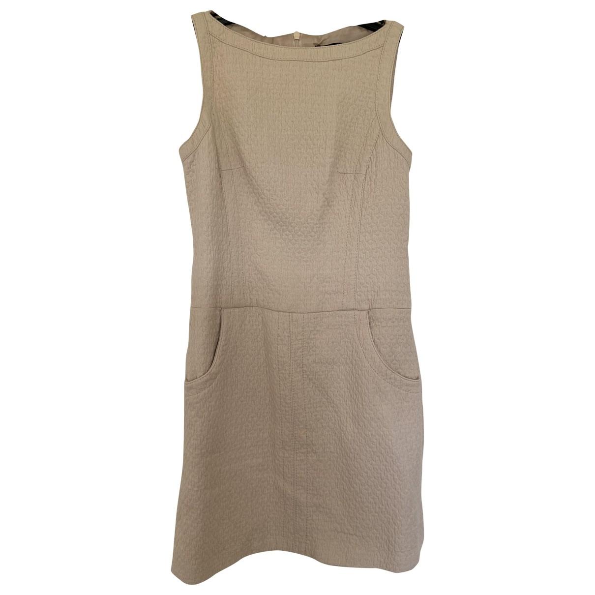 Karen Millen \N Kleid in  Beige Baumwolle
