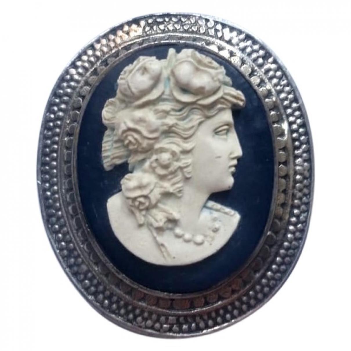 Wedgwood - Broche   pour femme en argent - multicolore