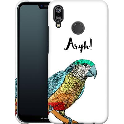 Huawei P20 Lite Smartphone Huelle - Parrot Pirate von caseable Designs