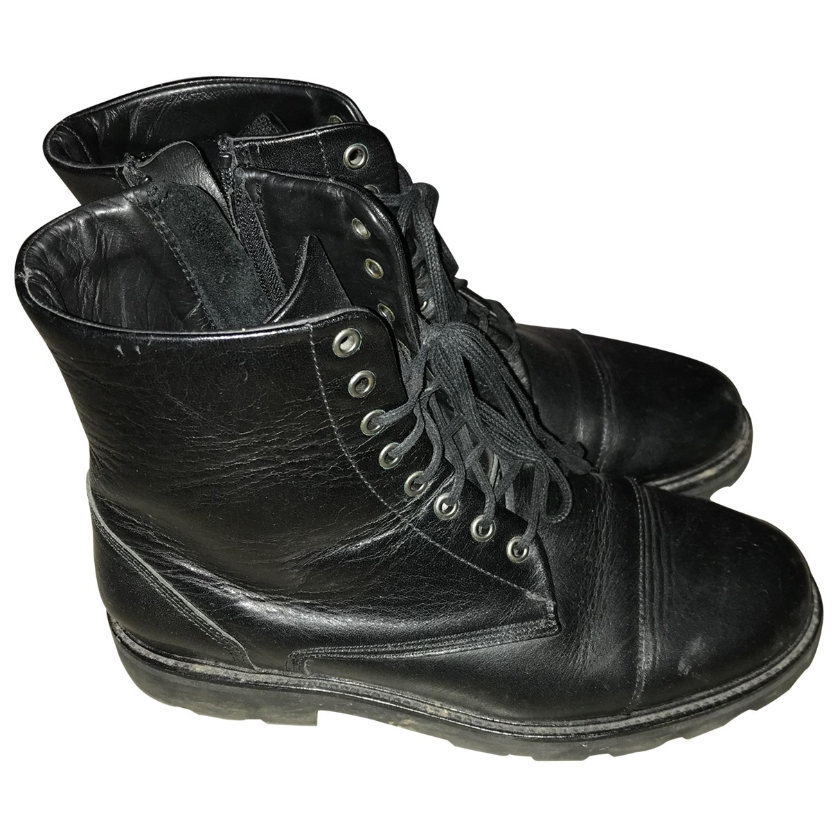 Royal Republiq \N Stiefel in  Schwarz Leder