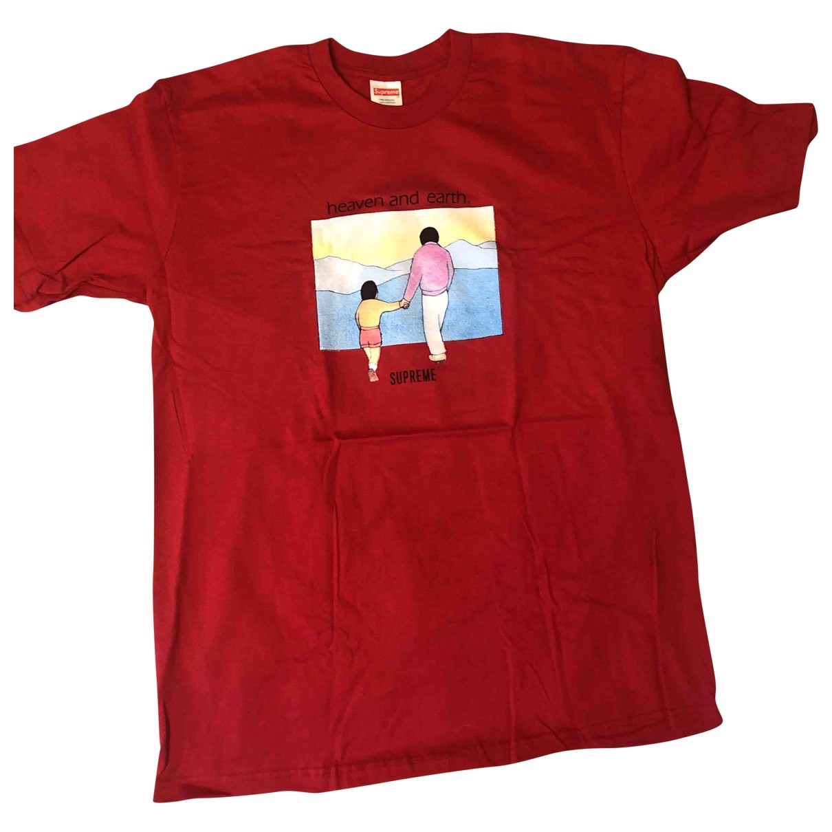 Supreme \N Red Cotton T-shirts for Men M International