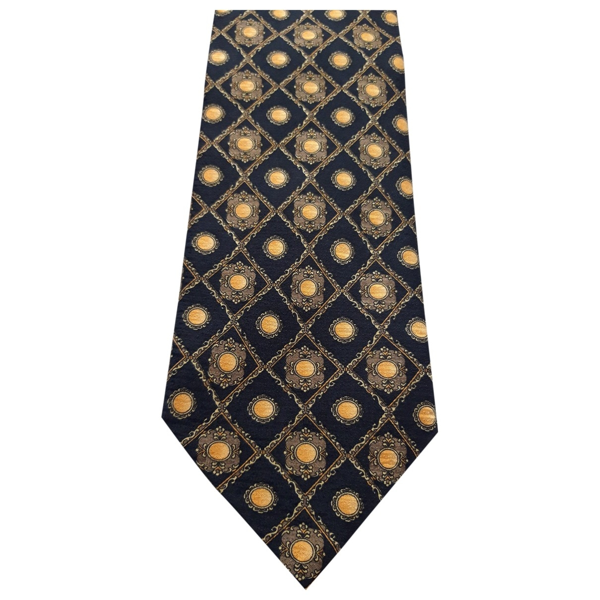 Diane Von Furstenberg \N Krawatten in  Gold Seide