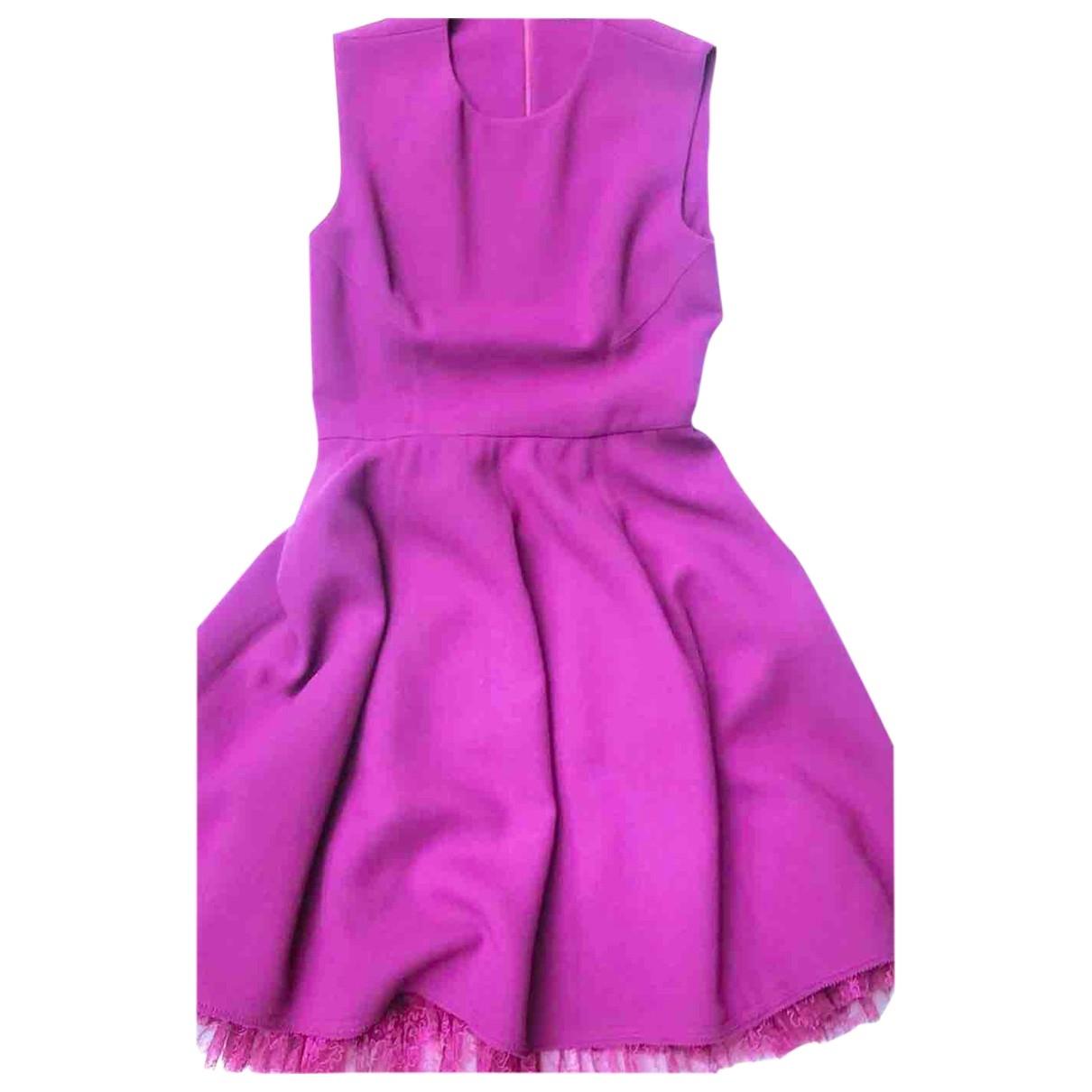 Ermanno Scervino - Robe   pour femme en laine - violet