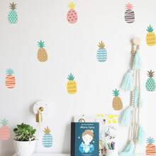 Kinder Wandaufkleber mit Ananas Muster