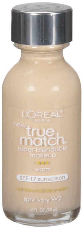 True Match Super-Blendable Foundation Makeup - Light Ivory
