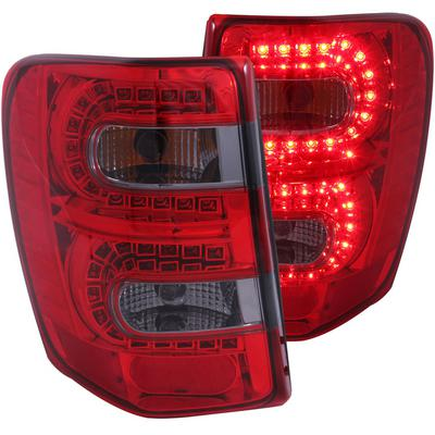 Anzo LED Tail Lights (Red/Smoke) - 311180