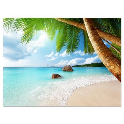 PT9399-40-30 Praslin Island Seychelles Beach - Seashore Photo Canvas Print -