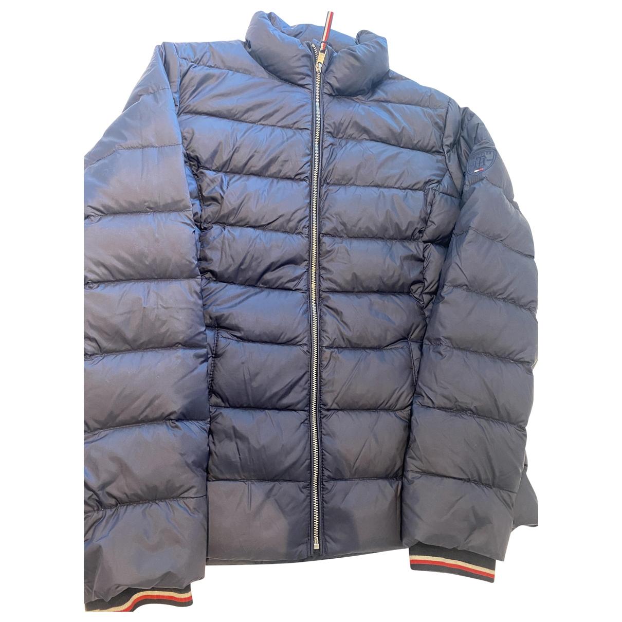 Tommy Hilfiger - Manteau   pour femme - bleu