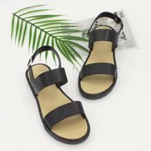 Minimalist Wide Fit Slingback Sandals