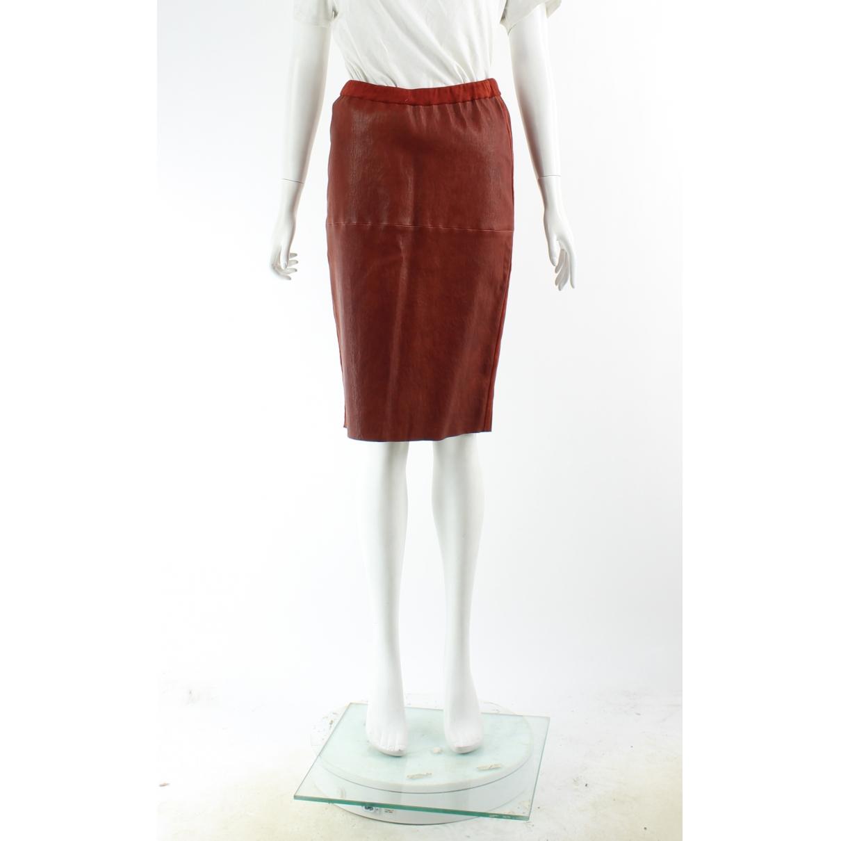 Isabel Marant \N Rocke in  Rot Leder