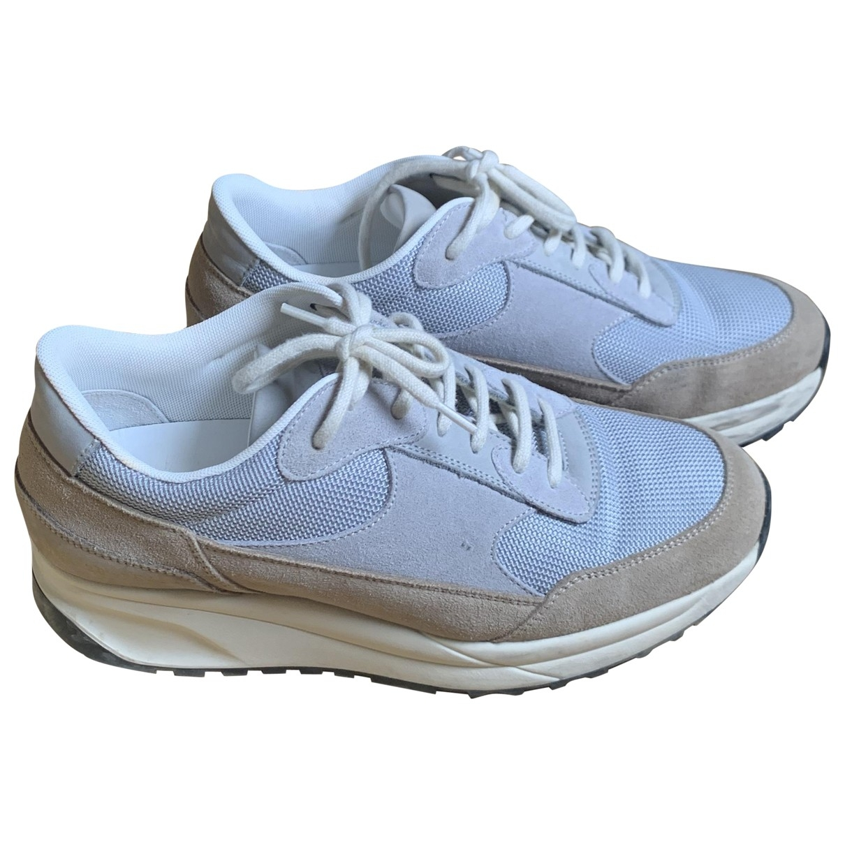 Common Projects \N Blue Suede Trainers for Women 38 EU