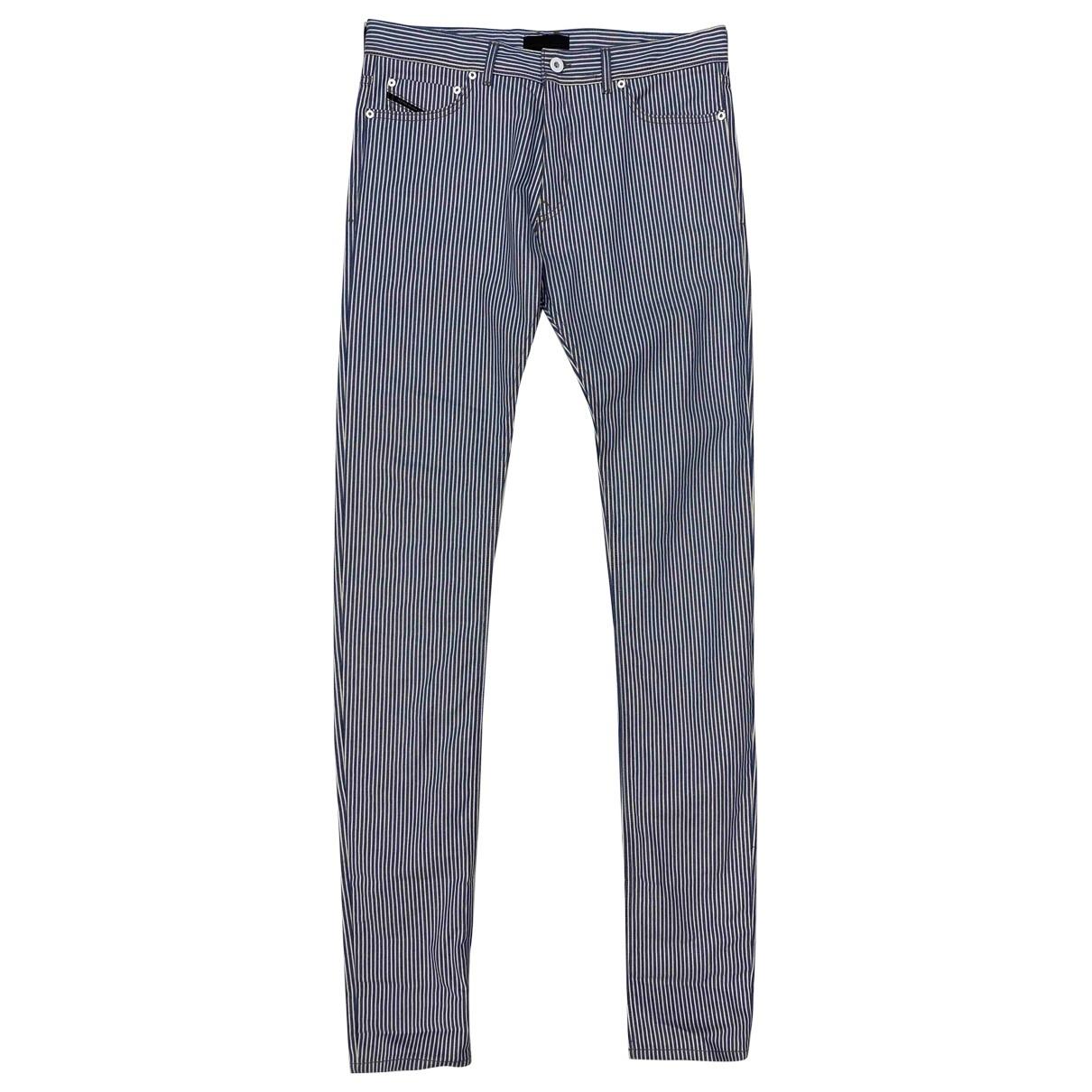 Diesel Black Gold \N Blue Cotton Jeans for Men 32 US