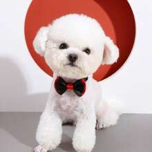 1pc Two Tone Dog Bow Tie