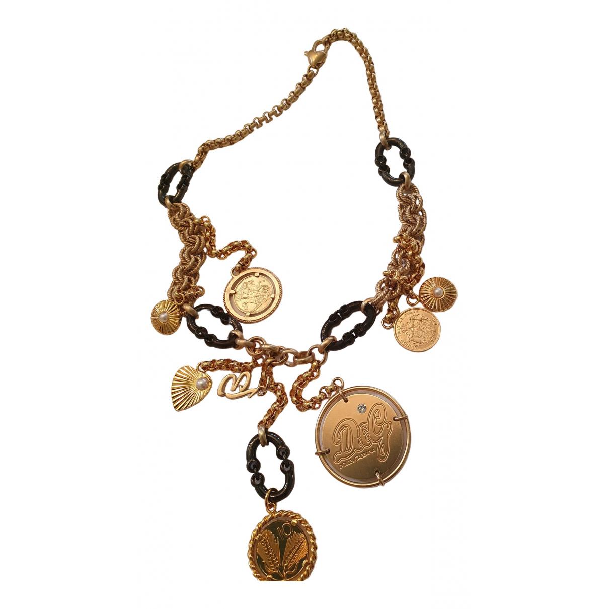 D&g \N Halskette in  Gold Metall