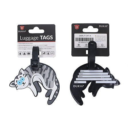Dukap Accessories 2-pc. Luggage Tag, One Size , Multiple Colors