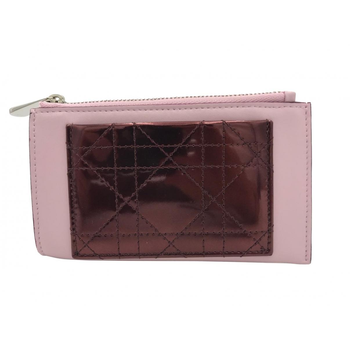 Dior \N Kleinlederwaren in  Rosa Leder