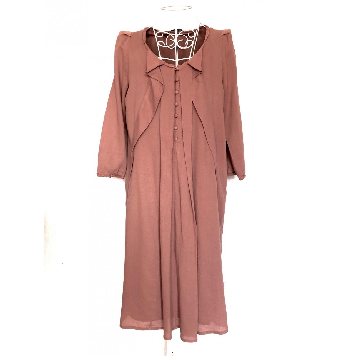 Bimba Y Lola \N Kleid in  Rosa Baumwolle