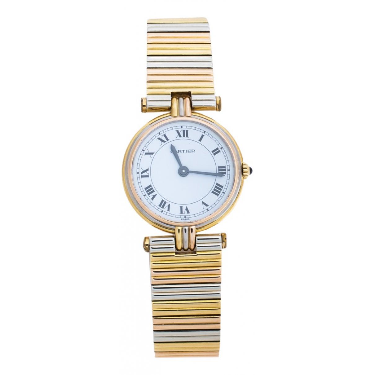 Reloj de Oro amarillo Cartier