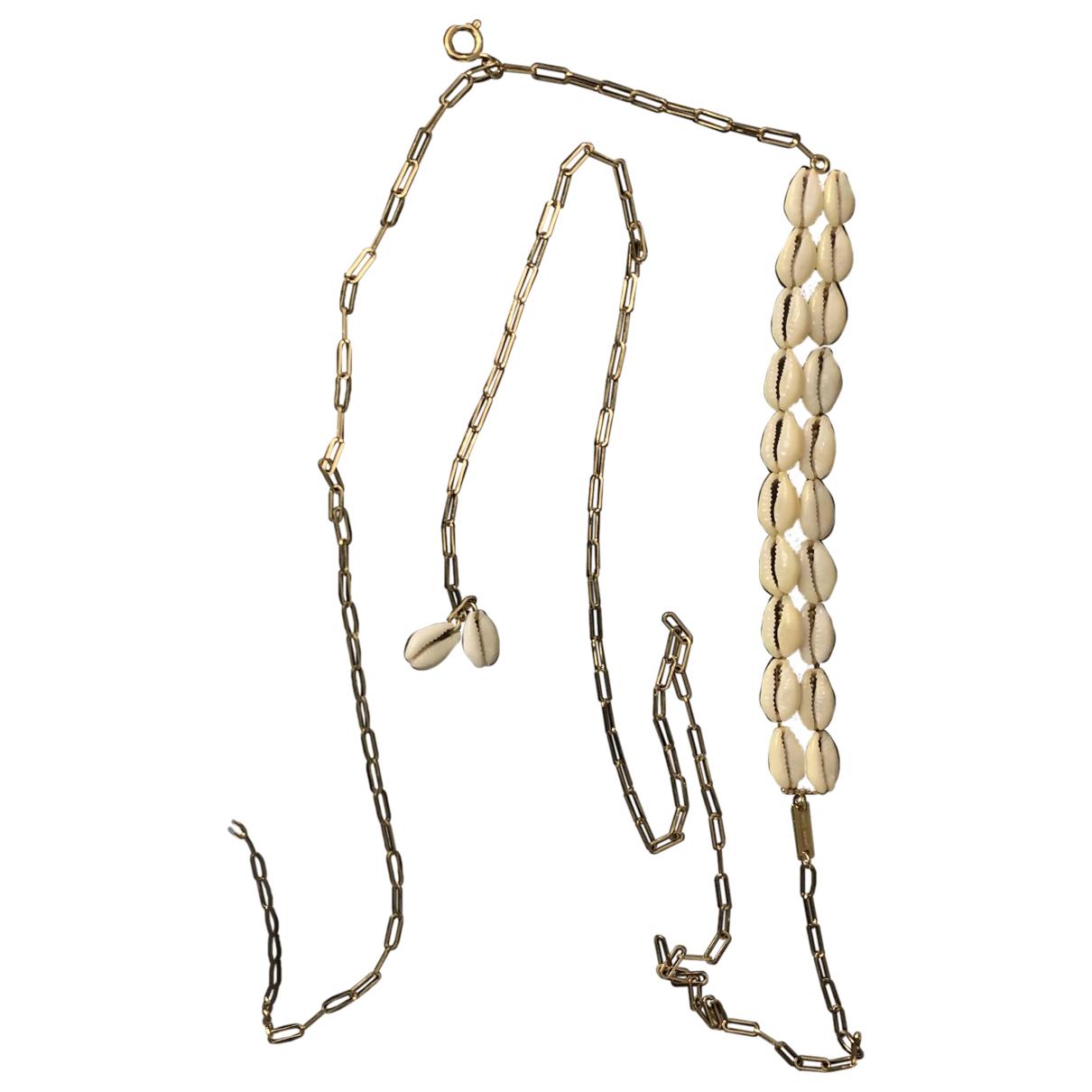 Isabel Marant \N Kette in  Gold Silber
