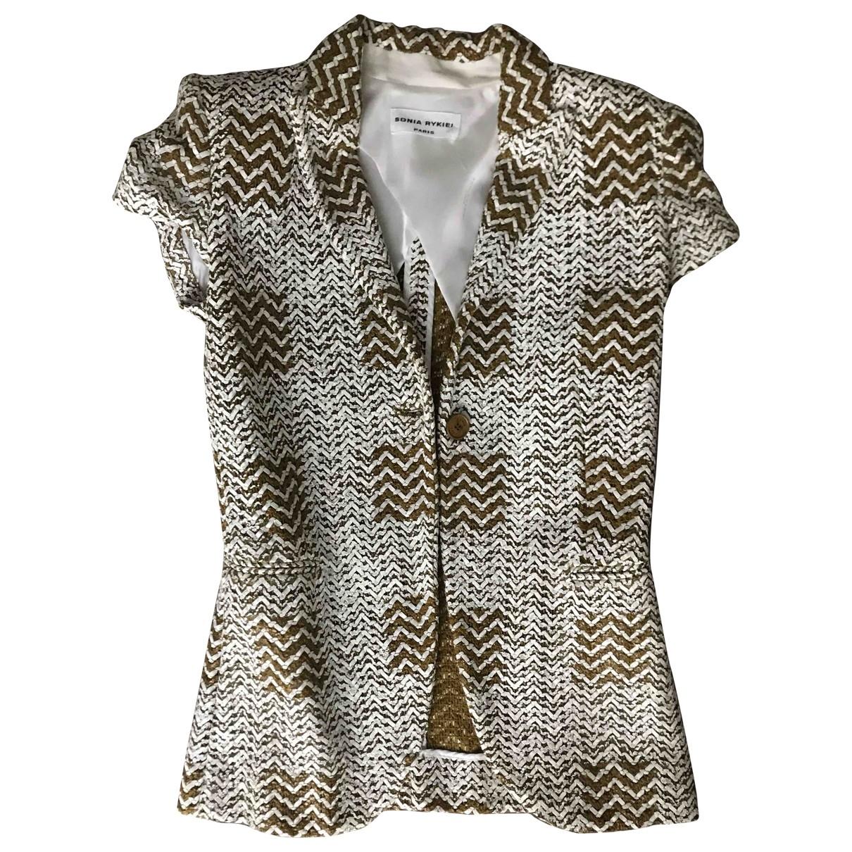 Sonia Rykiel - Veste   pour femme en coton - multicolore