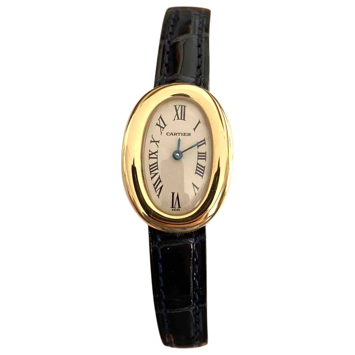 Cartier Baignoire Gold Yellow gold watch for Women \N