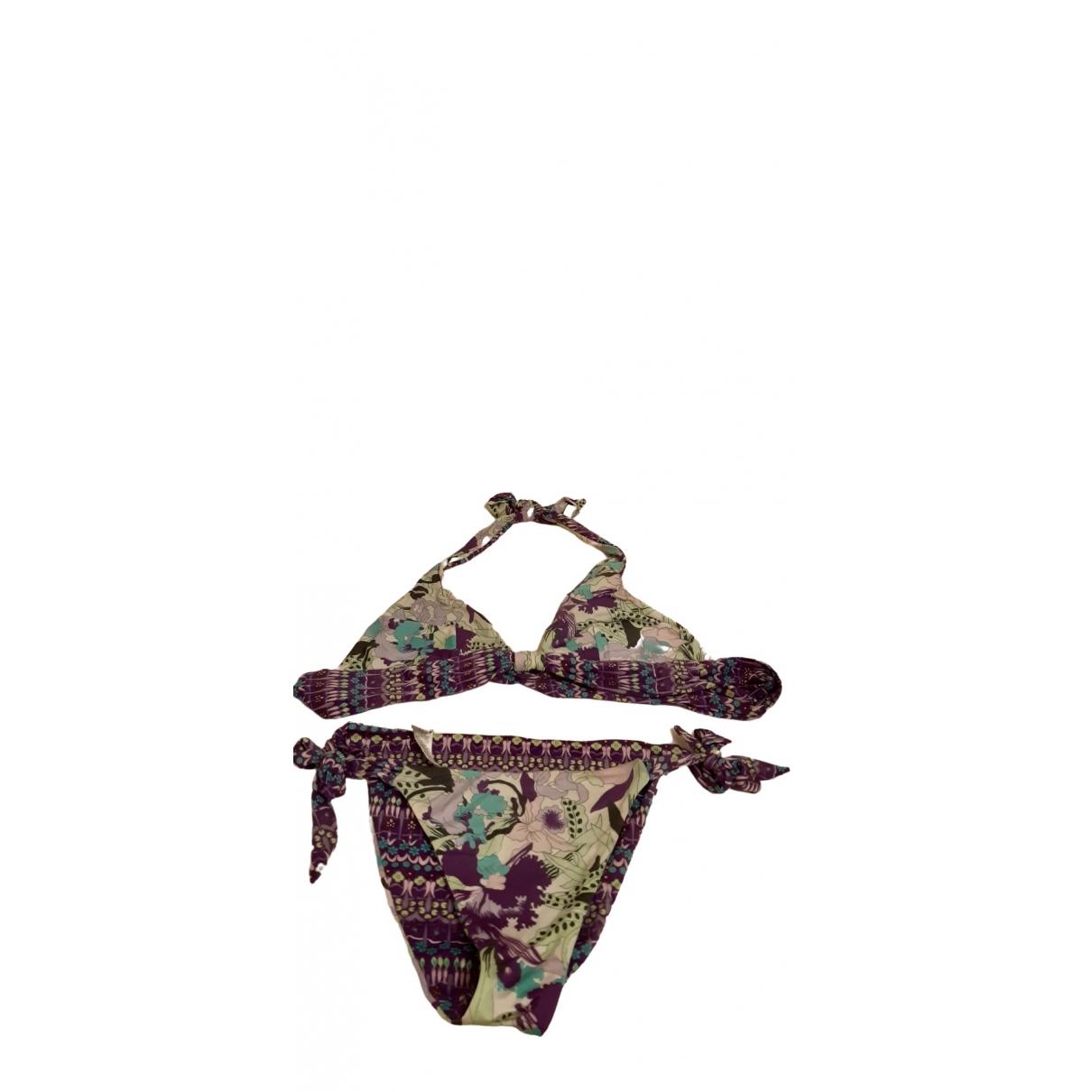 La Perla \N Purple Lycra Swimwear for Women 42 IT