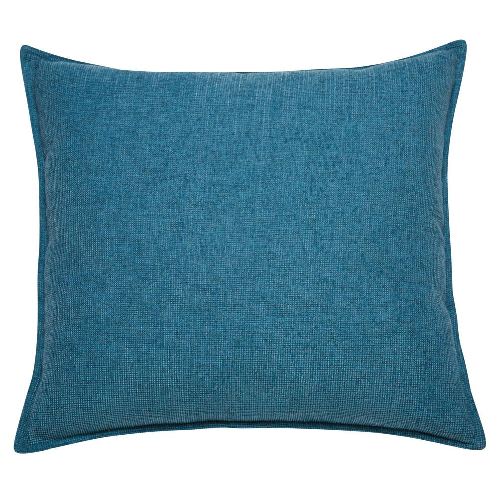 Kissen aus kobaltblauem Stoff 60x60