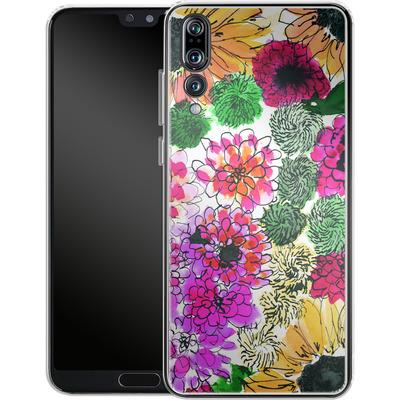 Huawei P20 Pro Silikon Handyhuelle - Fiore Sunshine von Amy Sia