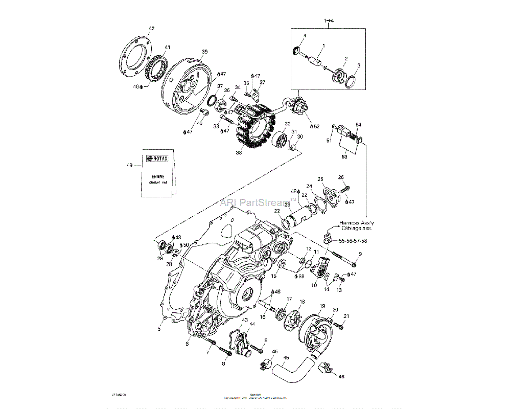 Can-AM OEM (Female) Secondary Lock (6 Circuits) (Deutsch)