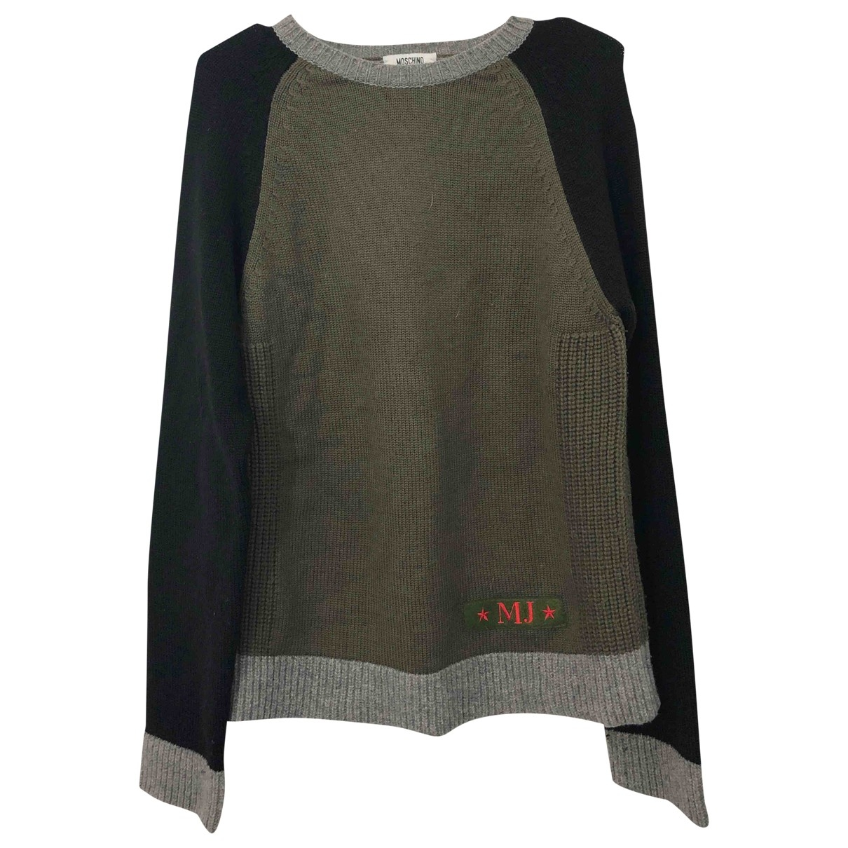 Moschino Cheap And Chic \N Pullover.Westen.Sweatshirts  in  Bunt Wolle