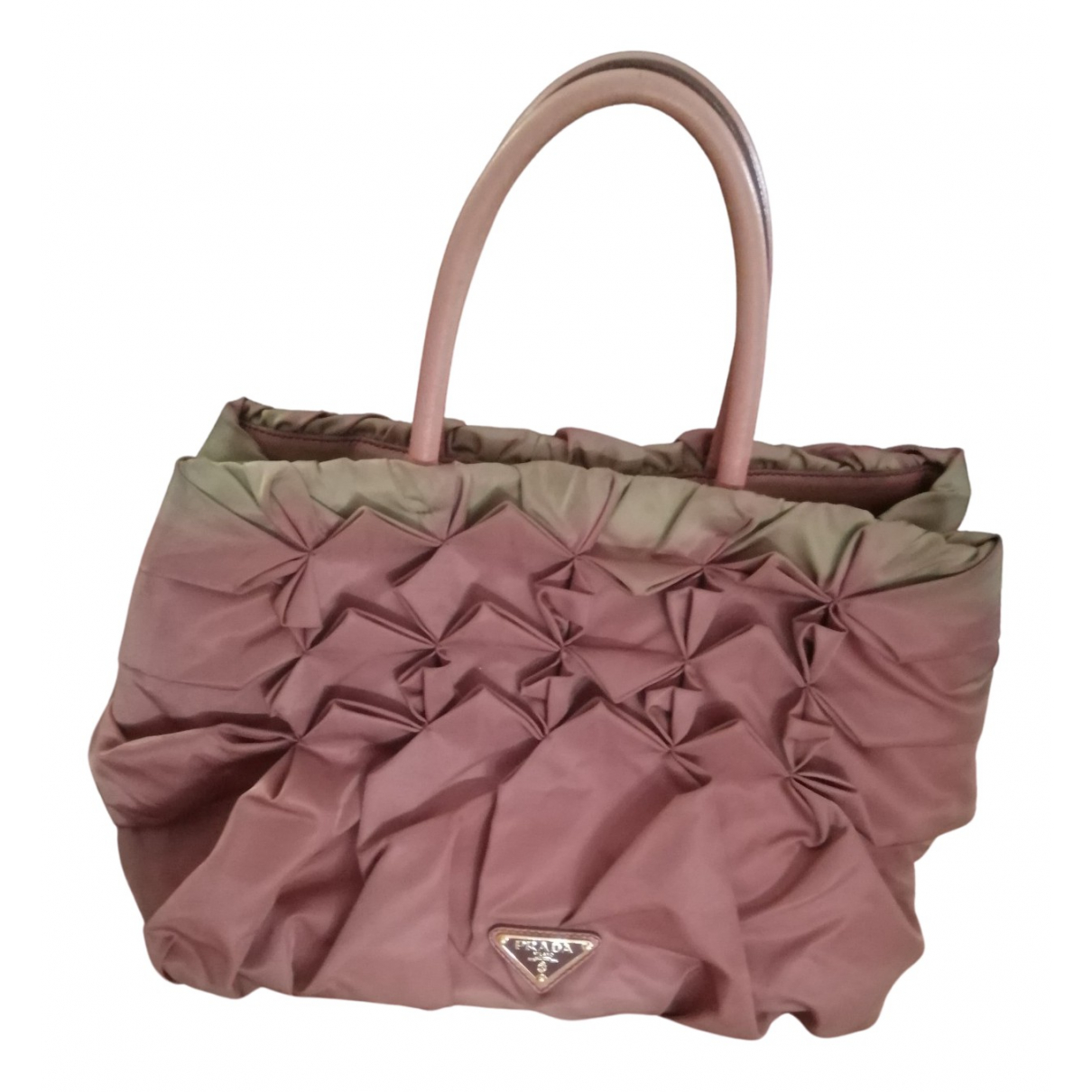 Prada N Pink Silk handbag for Women N