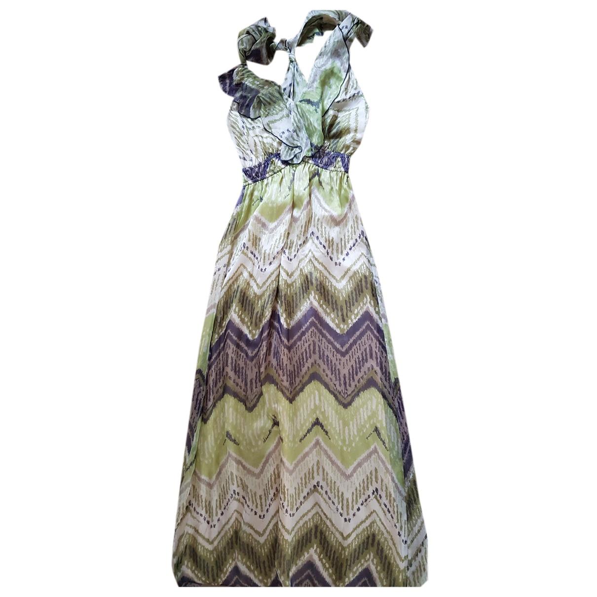 Hale Bob - Robe   pour femme en soie - vert