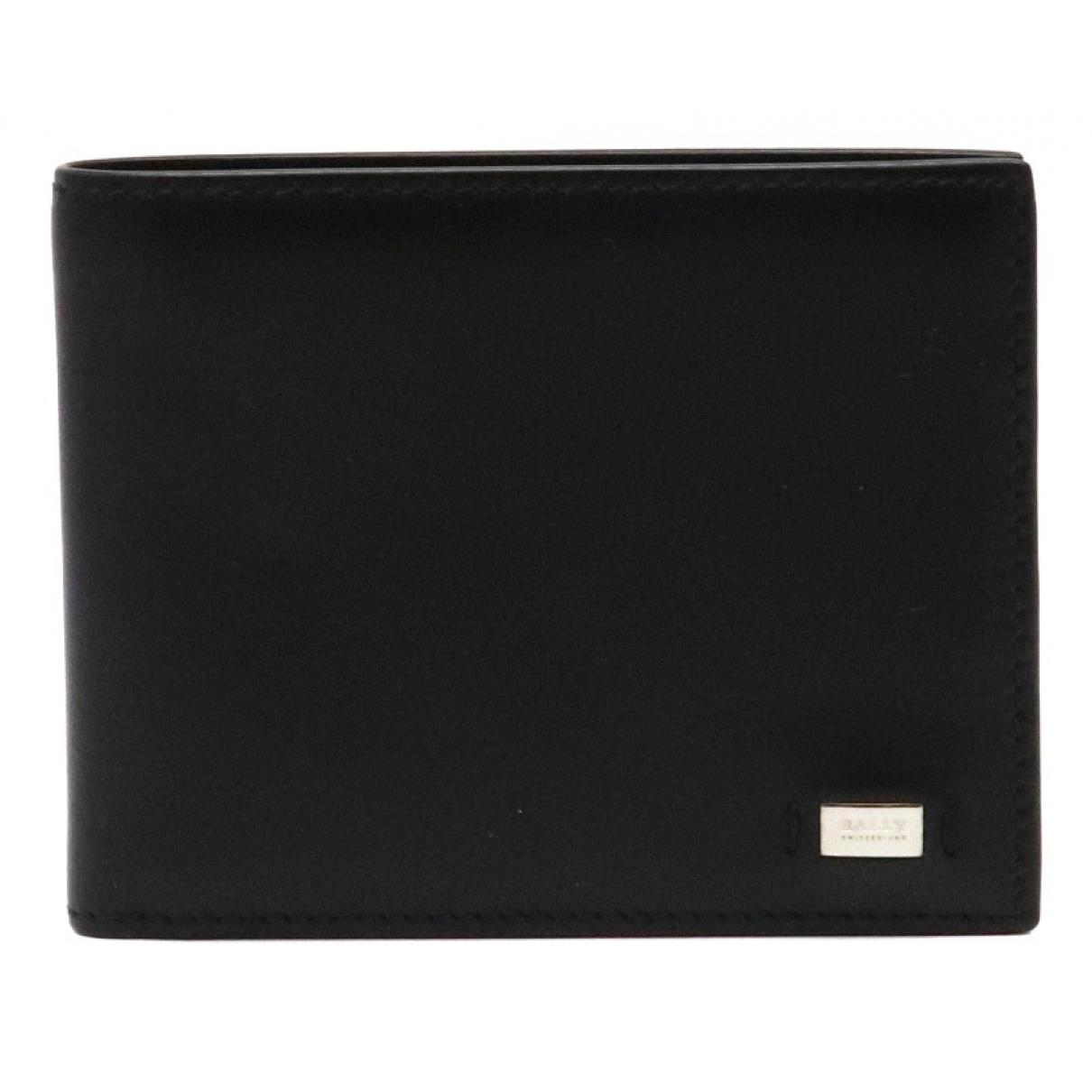 Bally \N Black Leather wallet for Women \N