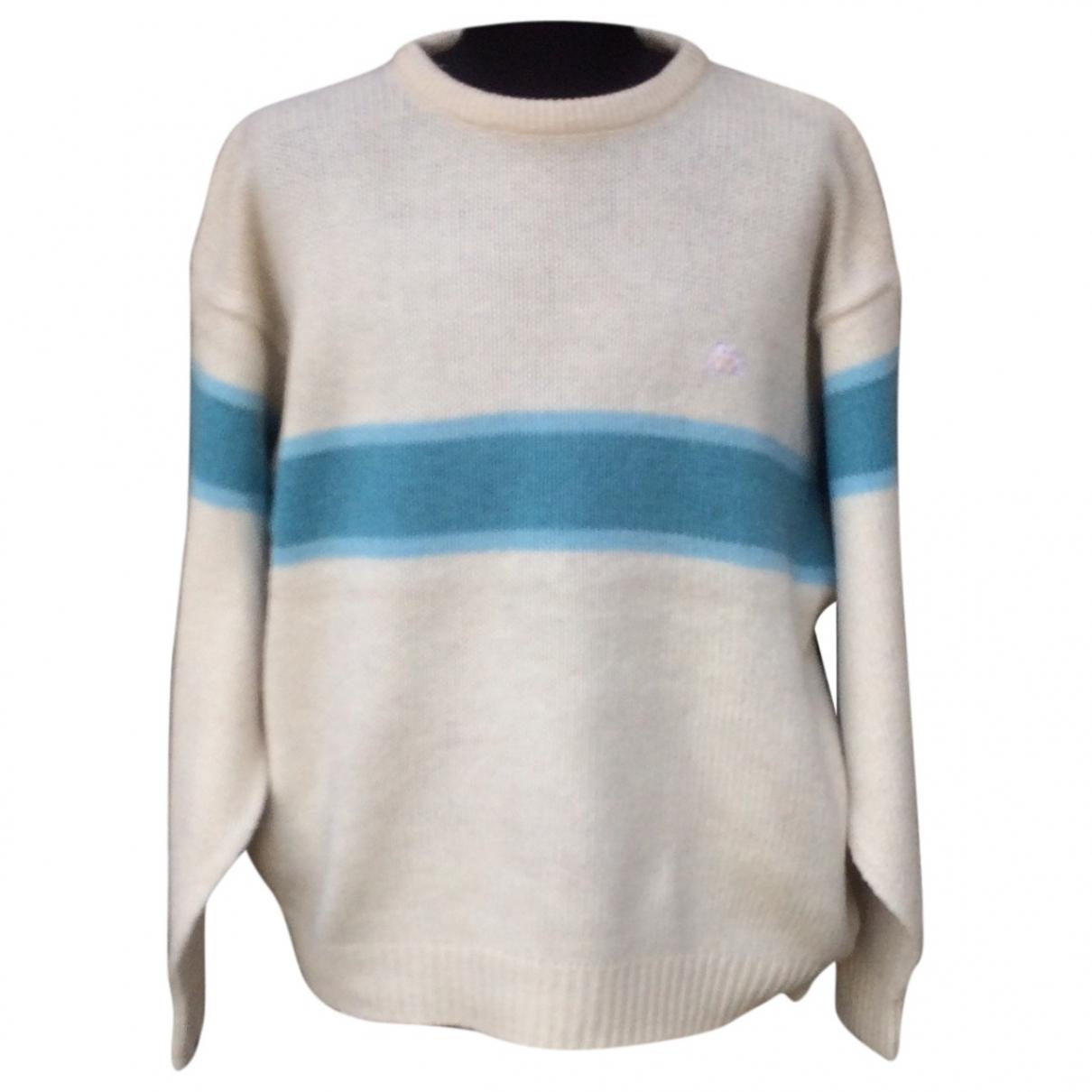 Kappa \N Pullover.Westen.Sweatshirts  in  Weiss Wolle