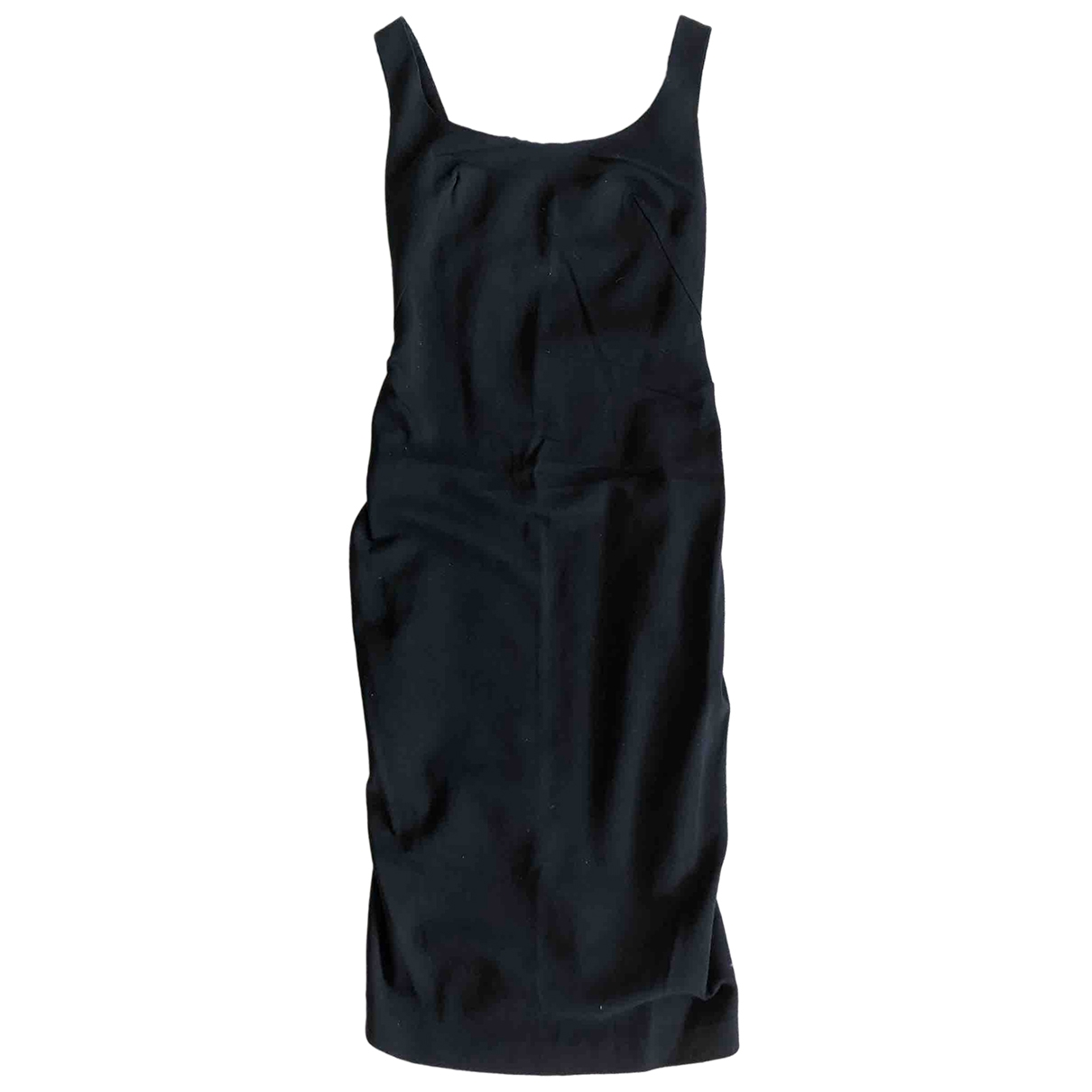 Sport Max \N Black Cotton - elasthane dress for Women 40 IT