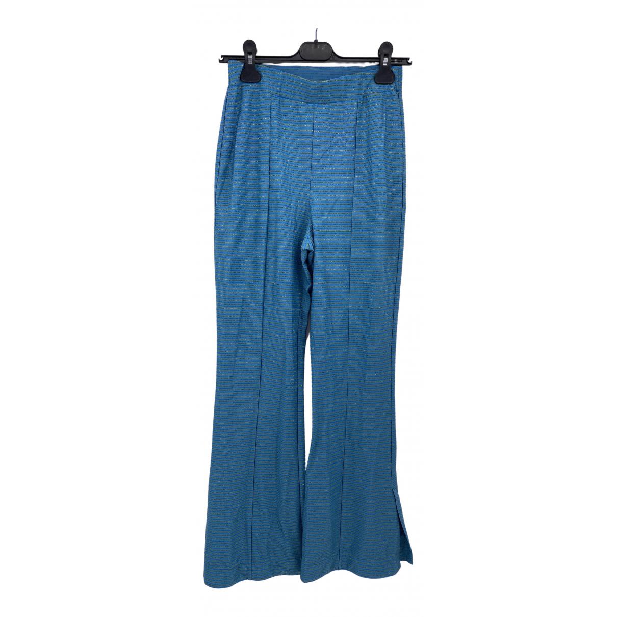 Stine Goya \N Blue Trousers for Women 36 FR