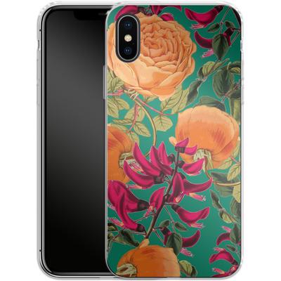 Apple iPhone X Silikon Handyhuelle - Sweet Spring von Zala Farah