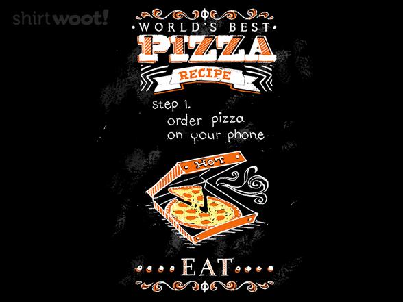 World's Best Pizza T Shirt