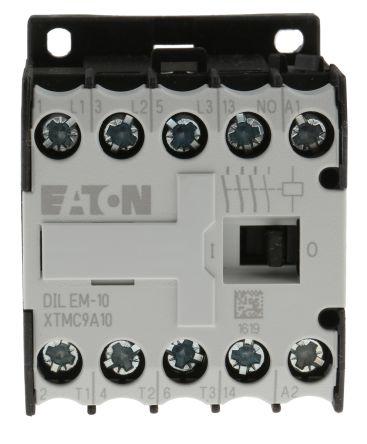 Eaton 3 Pole Contactor - 9 A, 240 V ac Coil, xStart, 3NO, 4 kW