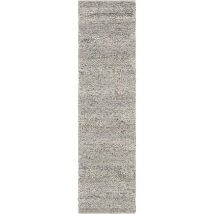 Tahoe TAH-3710 3' x 5' Rectangle Modern Rugs in Silver Gray  Pale Blue  Medium Gray