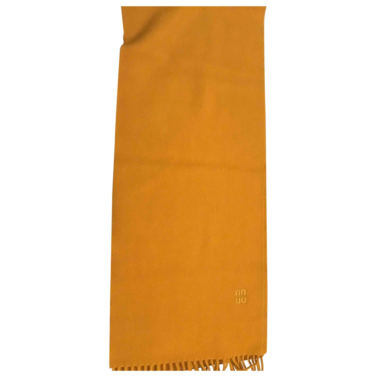 Daks \N Tuecher, Schal in  Gelb Wolle
