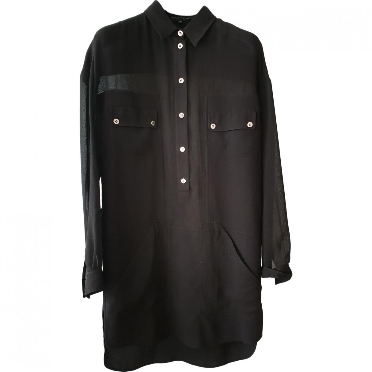 Barbara Bui \N Black Cotton dress for Women 36 FR