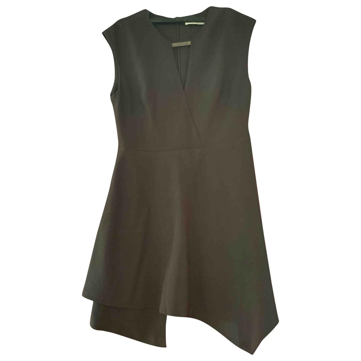 Halston Heritage \N Black Wool dress for Women 8 UK
