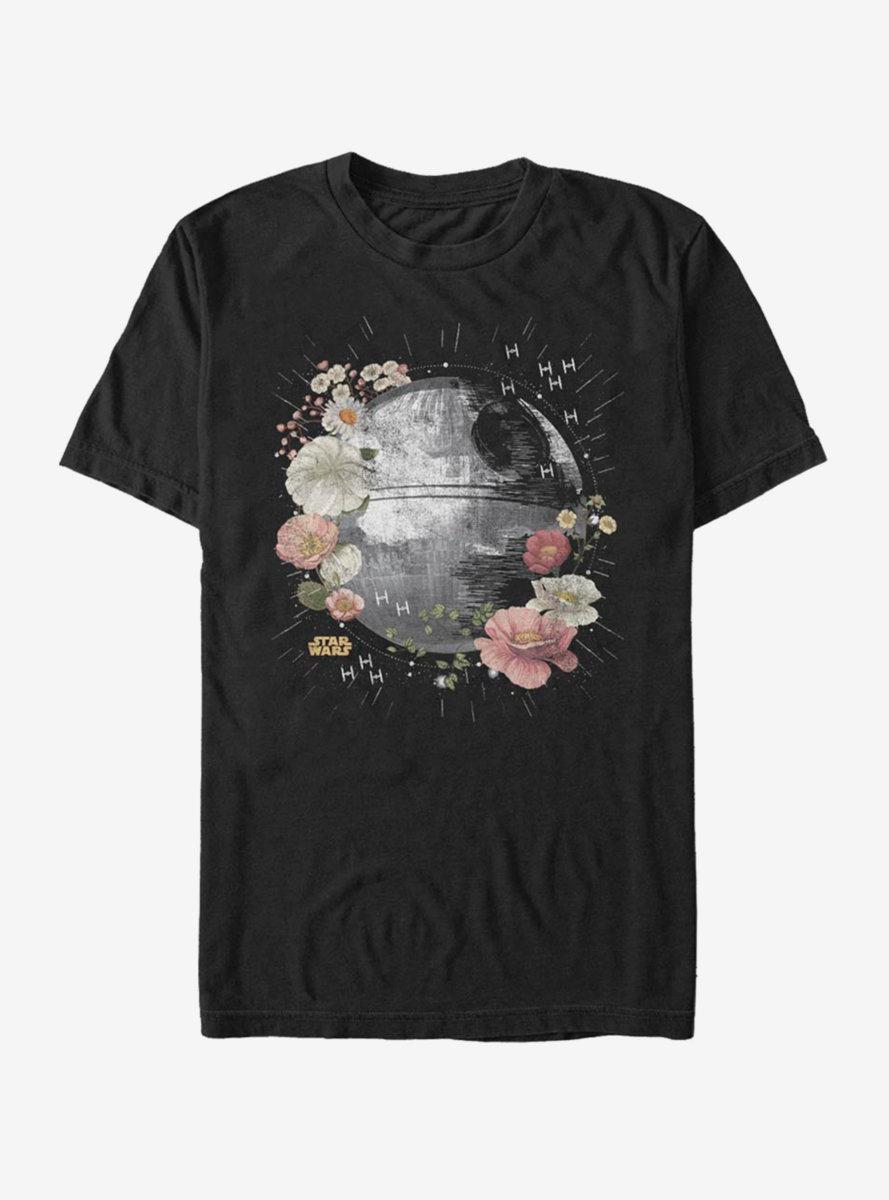 Star Wars Death Star Floral T-Shirt