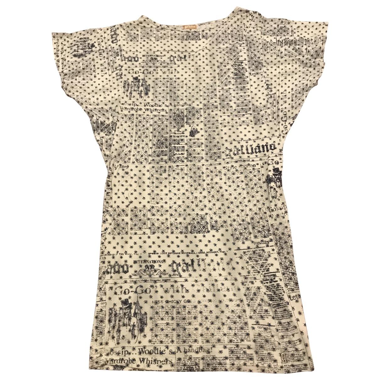 John Galliano \N Anthracite dress for Women 42 IT