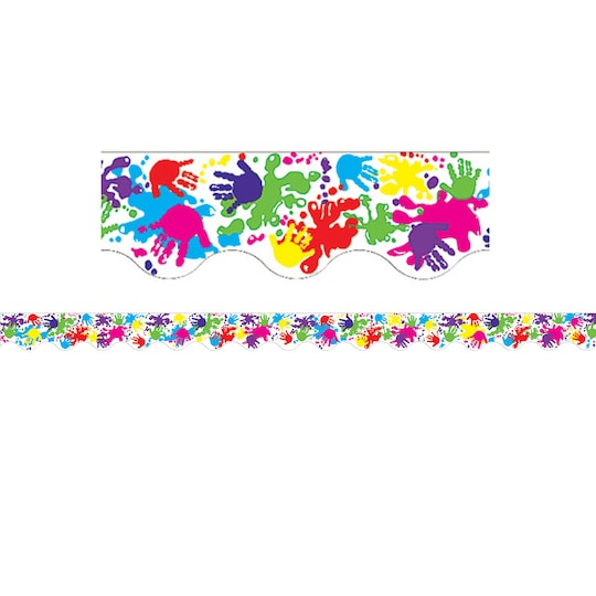 Teacher Created Resources Helping Hands Scalloped Borders, 420Ft   Michaels®