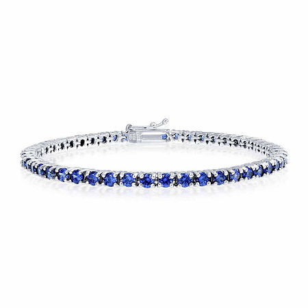 Sterling Silver 7.25 Inch Link Bracelet, One Size , No Color Family