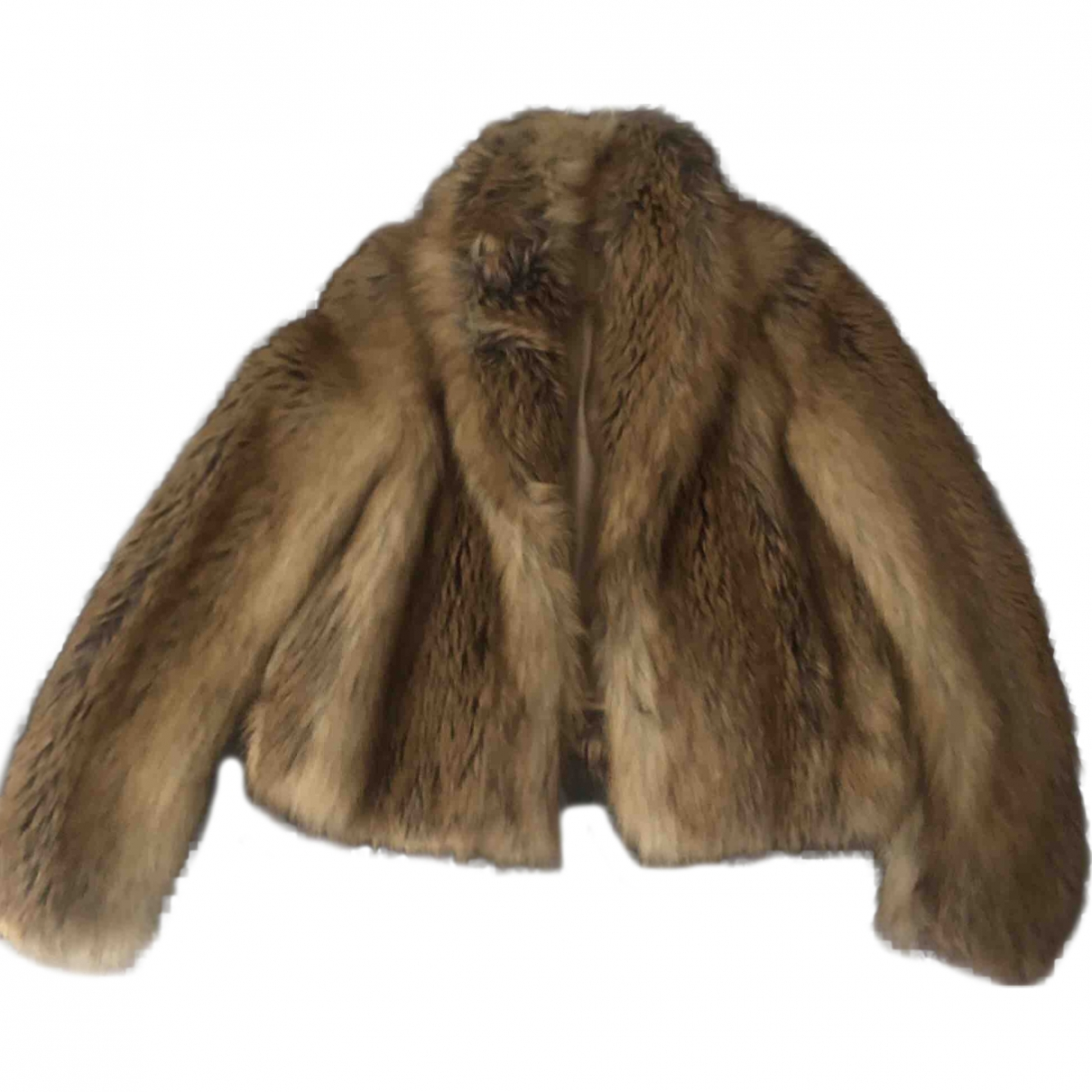 Maison Kitsune \N Camel Faux fur jacket for Women 34 FR