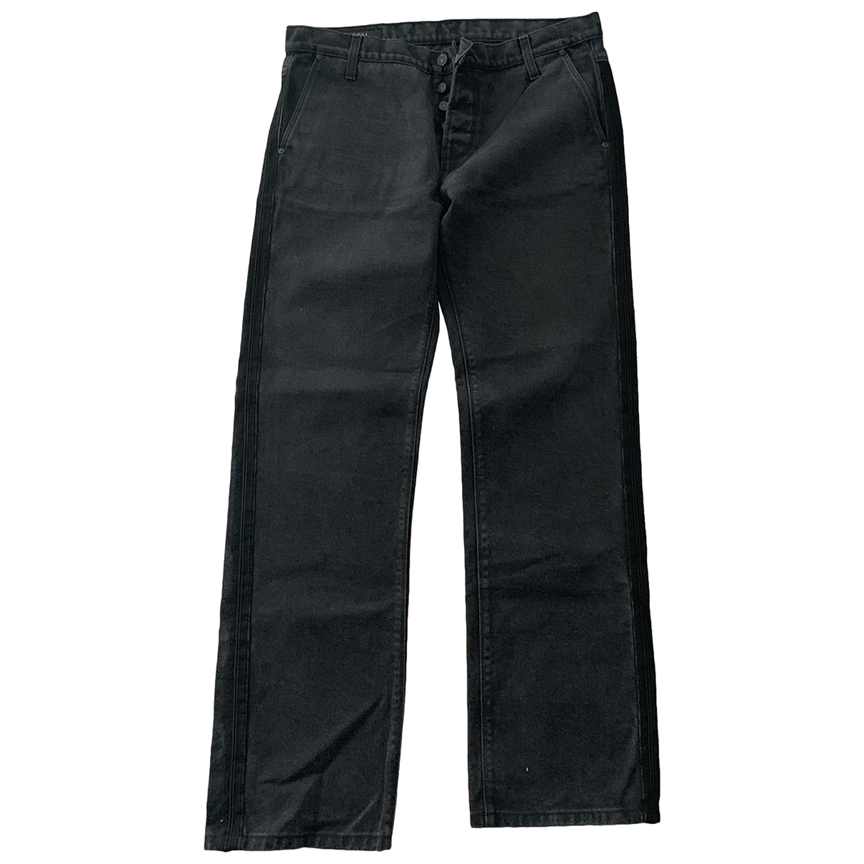 Gucci \N Anthracite Cotton Jeans for Men 34 US