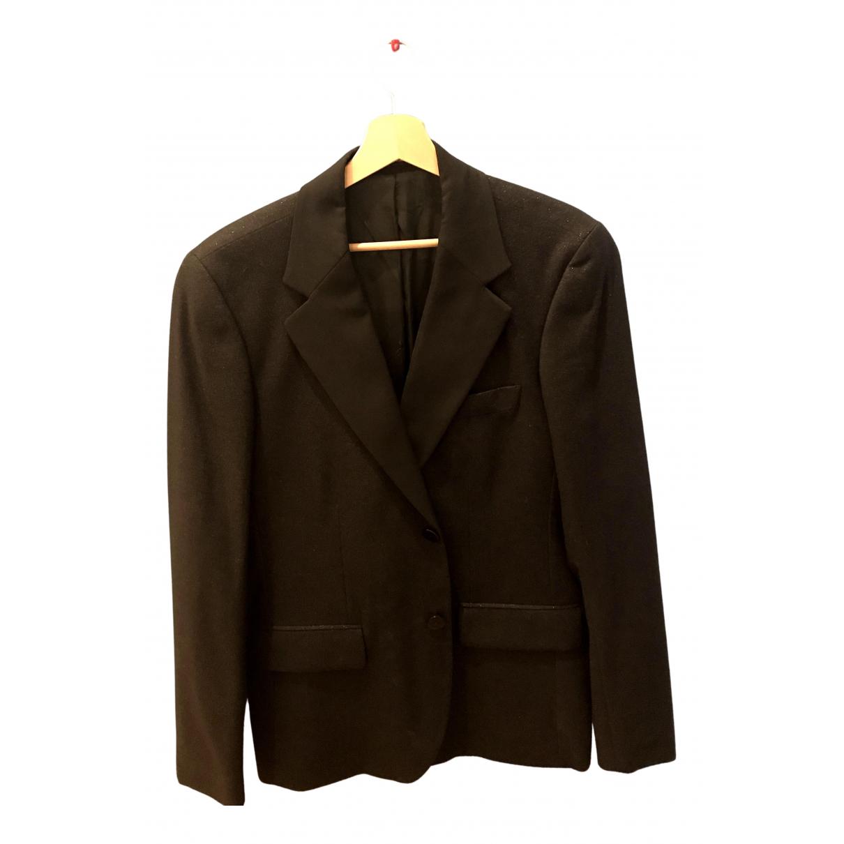 Agnès B. N Black Wool jacket  for Men 52 FR